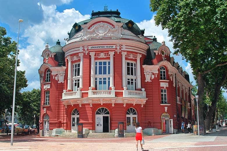 Edificio de la Ópera de Varna