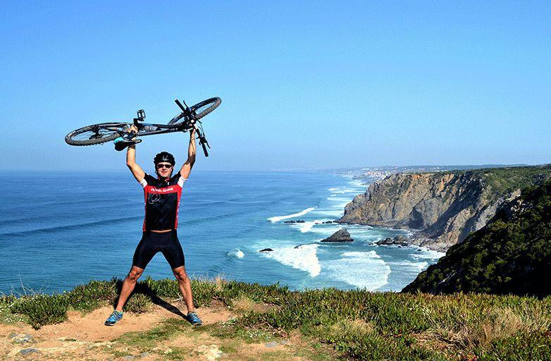 mountain biking yoga
