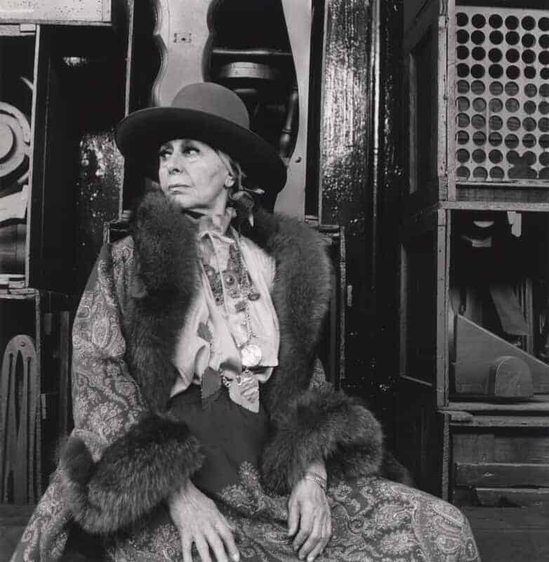 Louise Nevelson photographed by Cecil Beaton in 1978