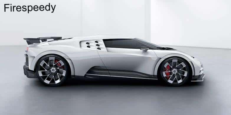Bugatti Centodieci performance