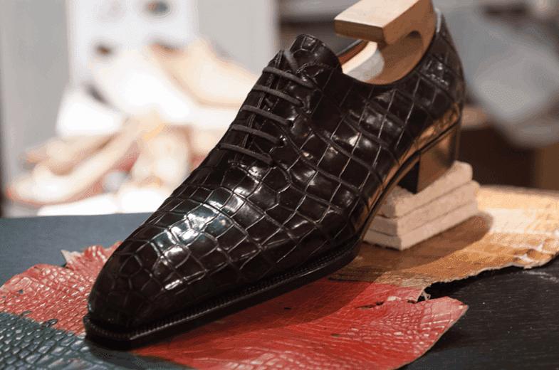 Alligator wholecut which Ann Bespoke has made for Floriwonne.
