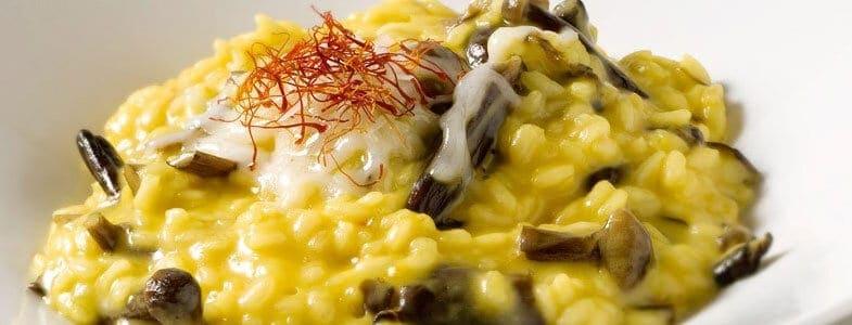 recette-vegetarienne-risotto-safran-champignons
