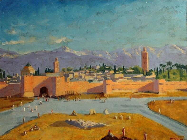 Winston Churchill paintings