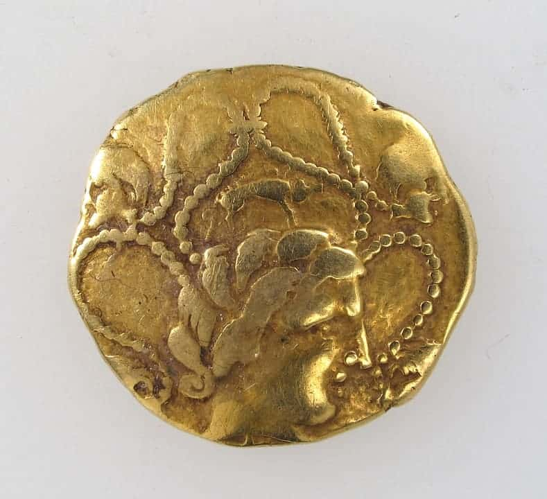 Greek coins had the faces of gods