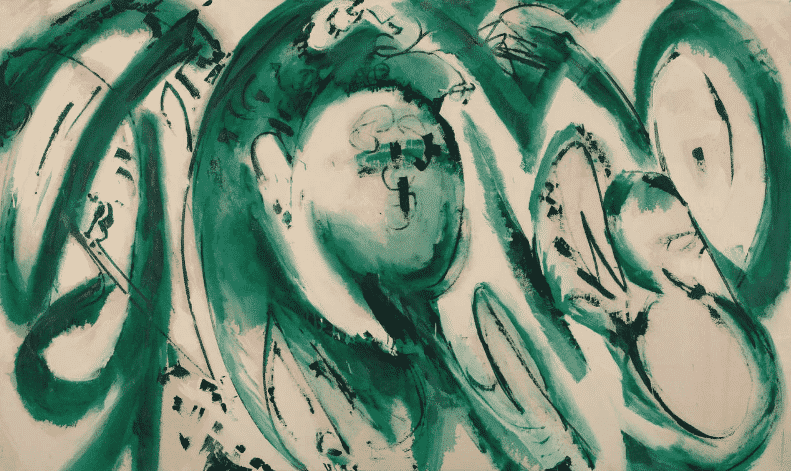 Lee Krasner, Portrait in Green, 1969