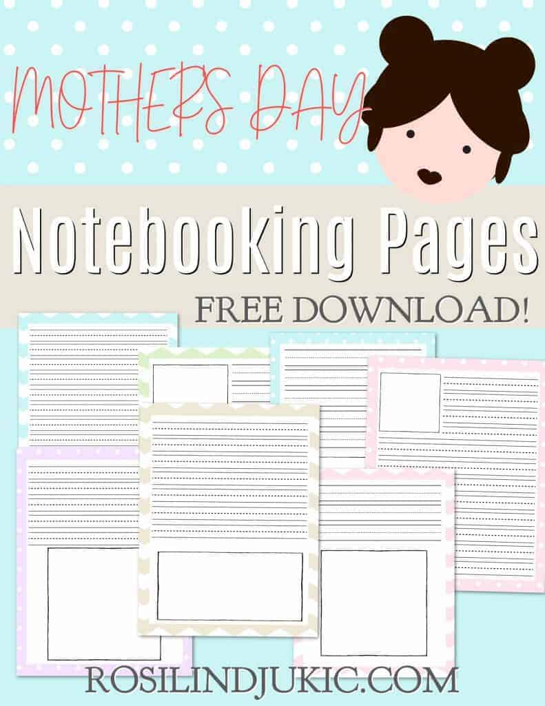This is the very best Mother's Day unit study, jam-packed with fun ideas for multiple grades, plus a free set of notebooking pages. #alittlerandr #mothersday #unitstudies #notebooking #homeschooling