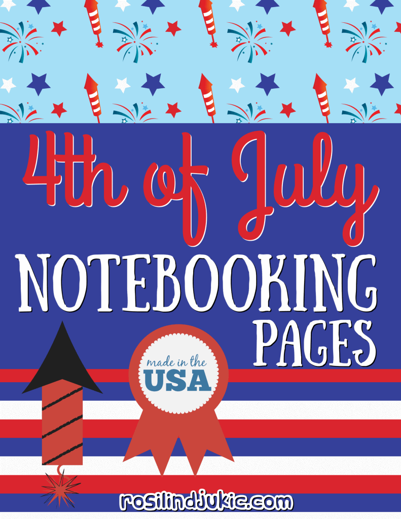 4th of July Notebooking Pages Cover Image
