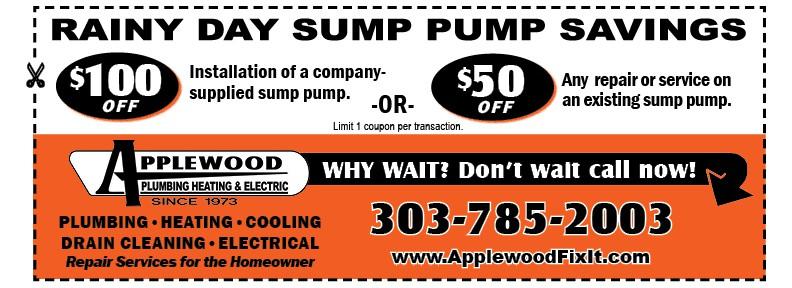 sump pump coupon