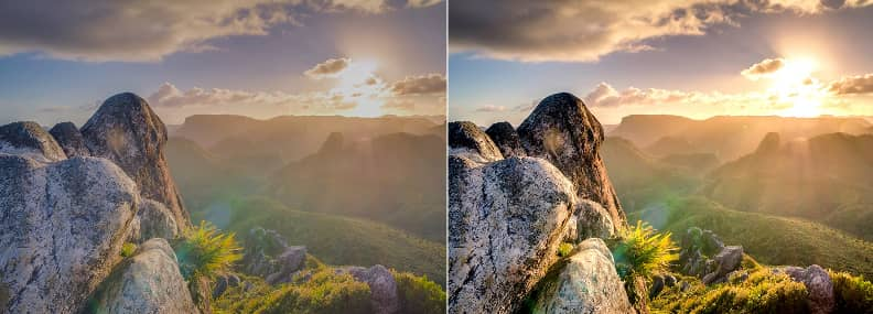 Que significa HDR. HDR On vs. HDR Off