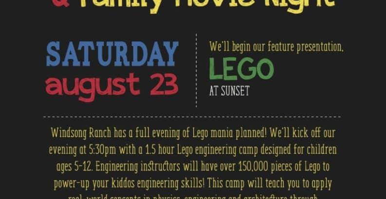 Lego movie night