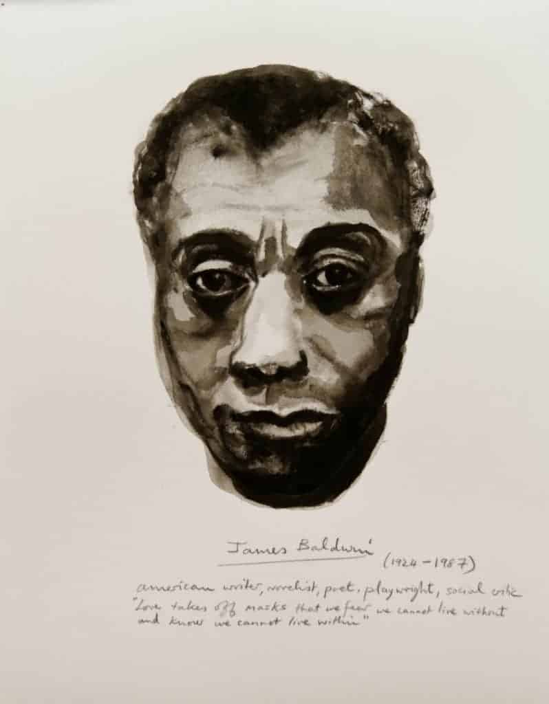 Marlene Dumas - James Baldwin - 2014