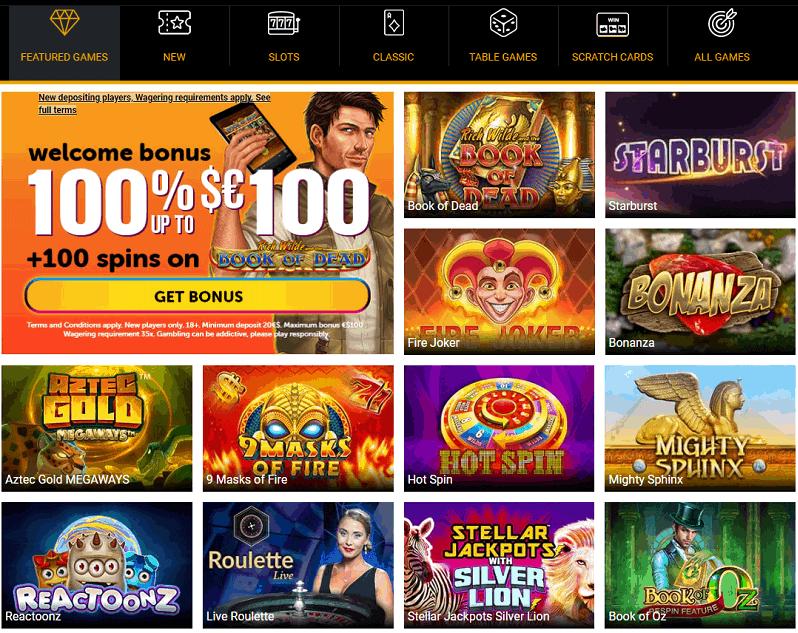 Wildslots Casino Website Review