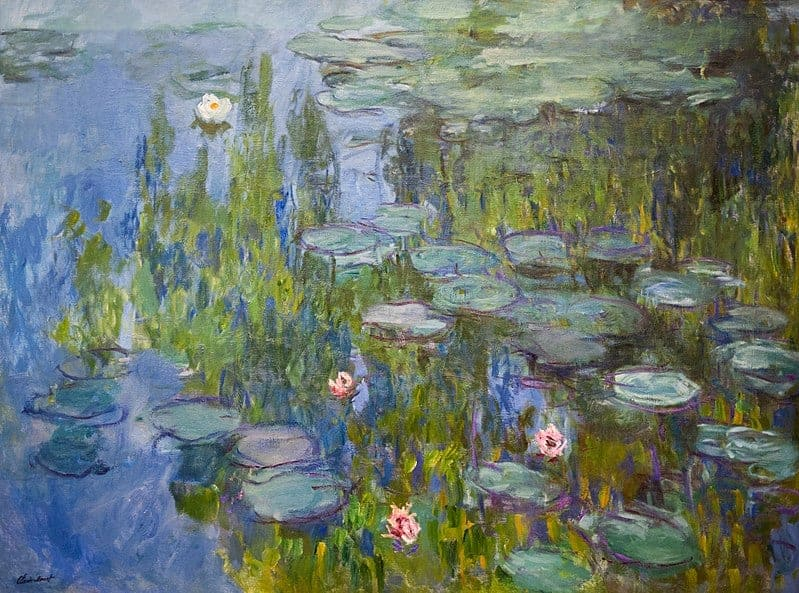 Claude Monet - Seerosen (1915)