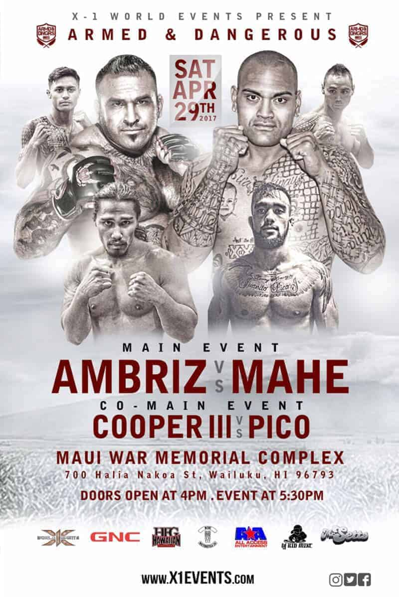 MMA Action in Maui April 29