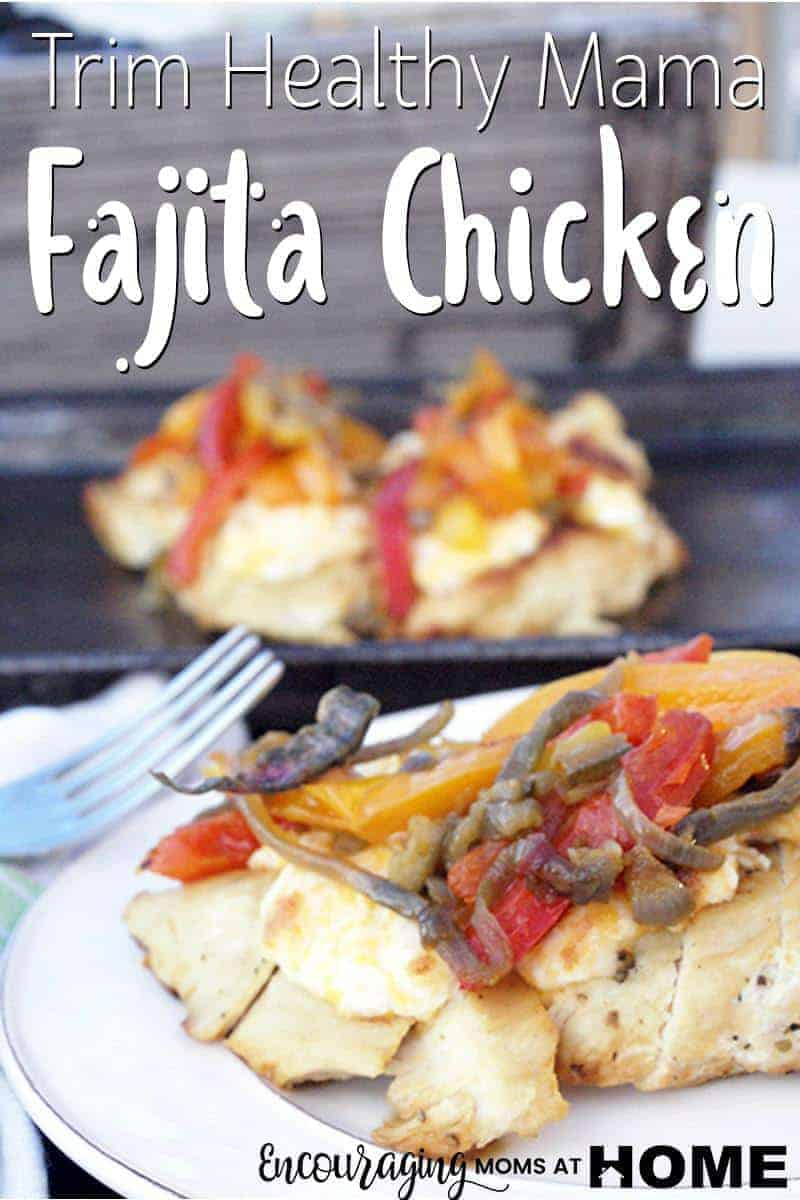 Carbs are not what gives mexican food it's flavor. That's why this Trim Healthy Mama Fajita Chicken is perfect. It has the rich flavors of peppers and spices without the guilt. This S meal is quick, easy and delicious. #thmsmeal