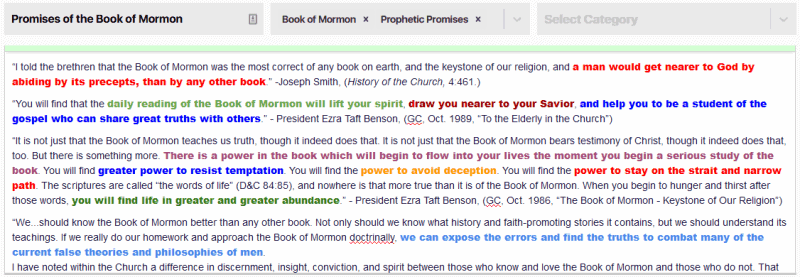Prophetic promises of the Book of Mormon