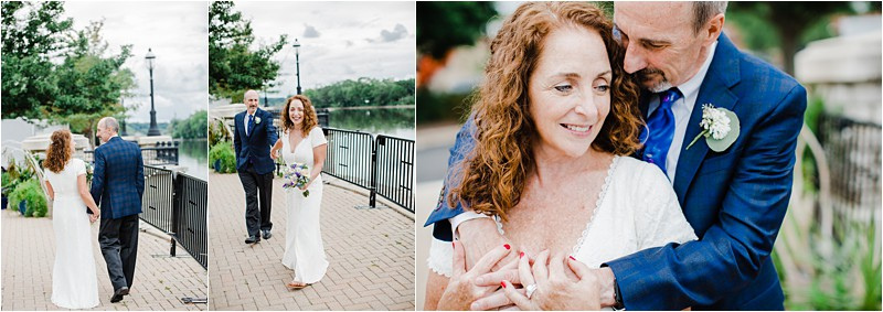 social distancing wedding, best wedding photographer in Chicago, wedding dress for mature woman