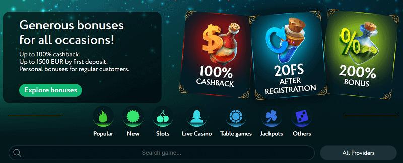 GoodWin Casino Welcome Bonus