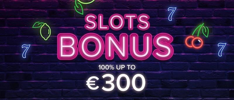 100% up to 300 EUR welcome bonus (code: BONUS300)