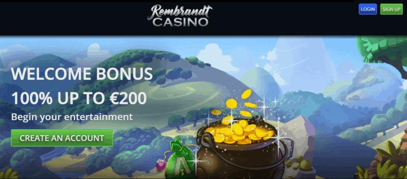 Rembrandt Casino free spins bonus