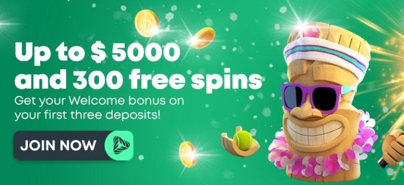 GreenSpin Welcome Bonuses