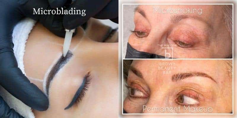 What is the difference between Microblading and Machine Hair-strokes