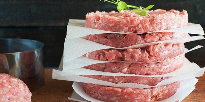 Hamburger Patties made ahead for faster meals