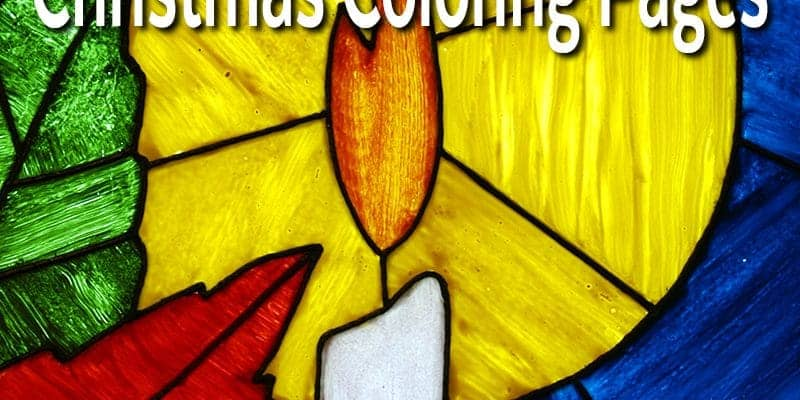 stained-glass-christmas-coloring-pages