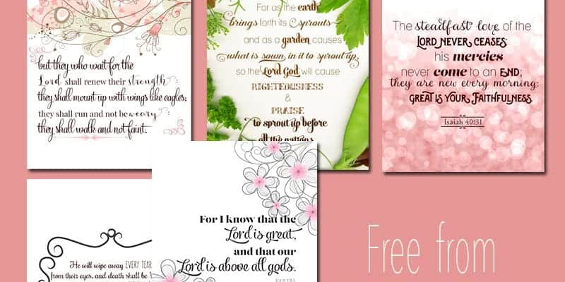 Bible Verses to Encourage and Inspire Moms - PIN