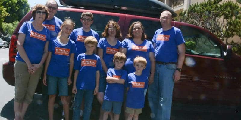 Shirts for Family Travel - Family Shirts for PCS, Day trips, Vacation, Moving, and more.