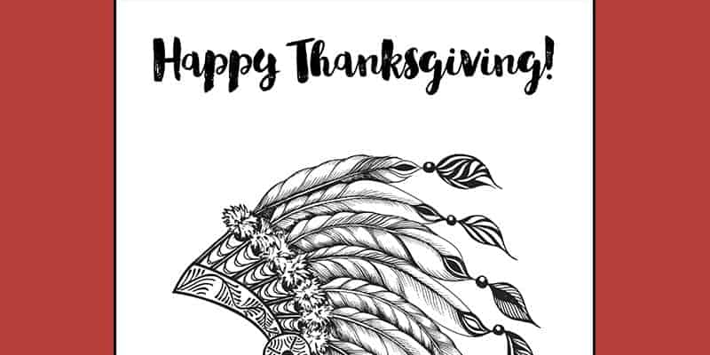indian-coloring-page-thanksgiving