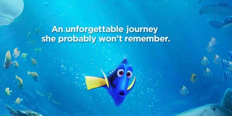 Review of Finding Dory by Disney Pixar