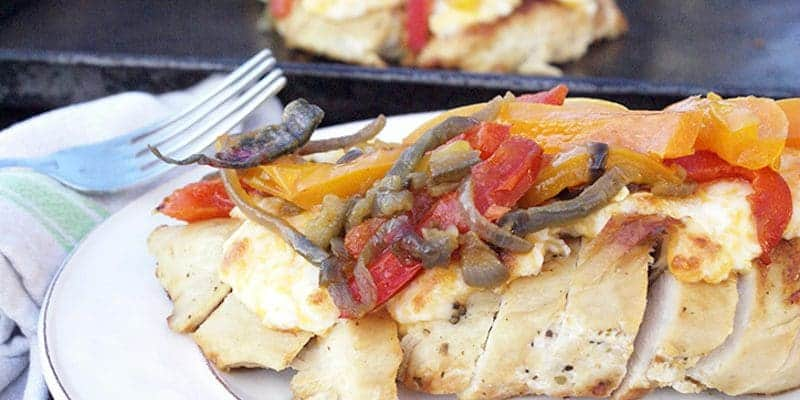 Fajita Chicken for Trim Healty Mama