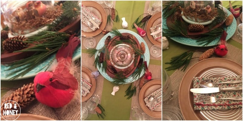 How to Set a Beautiful Holiday Table on a Tight Budget - R&H6