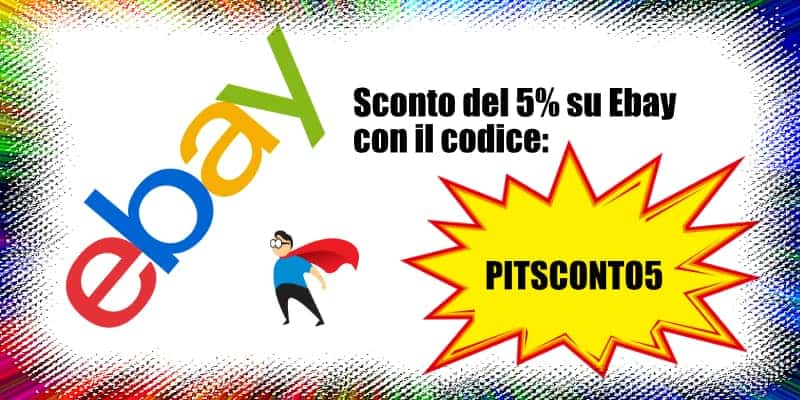 codice sconto ebay pitsconto5