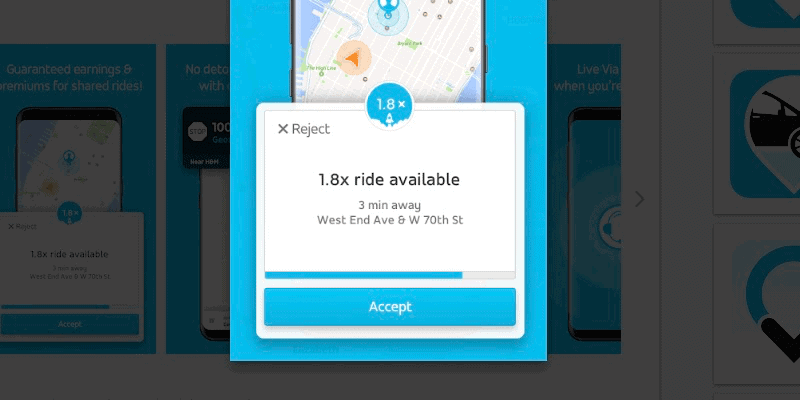 Via Driver: Everything You Need to Know - Accept a ride