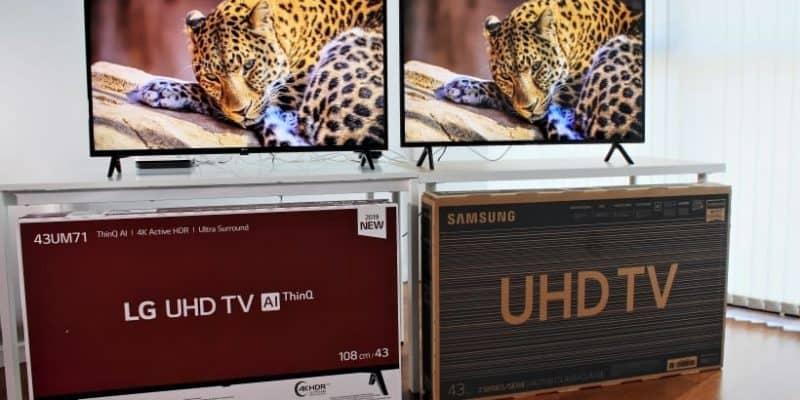 Comparativa TV LG UM7100 vs. Samsung RU7105