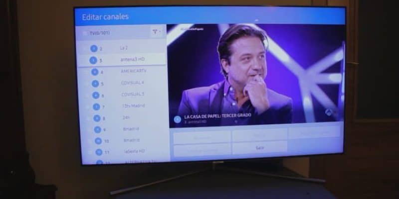 Como ordenar los canales en un TV Samsung Smart TV