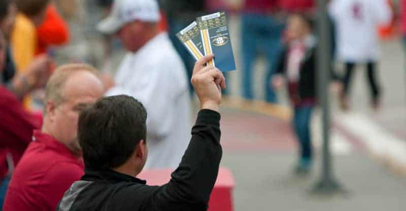 Man Tries To Sell Tickets For SEC Championship Game