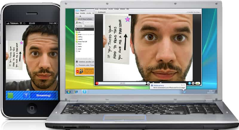 How to Use Your iPhone as a Webcam for Your PC or Mac with