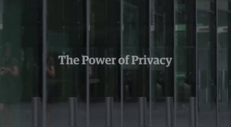 The Power of Privacy documentary title