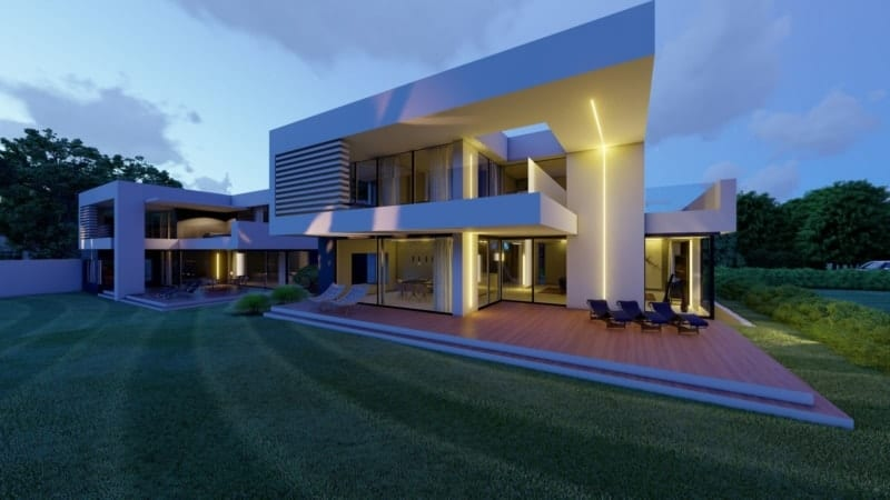 Bauhausstil Häuser