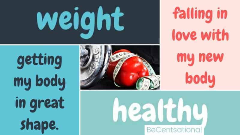 weigh loss affirmations post cover image