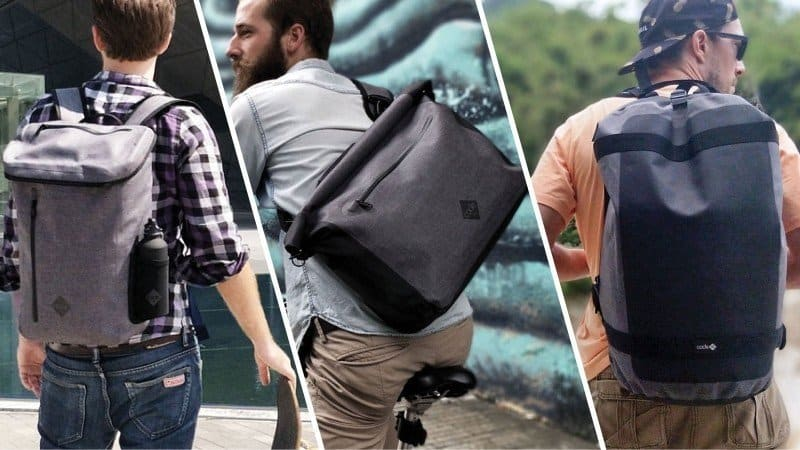code 10 three new commuter bags