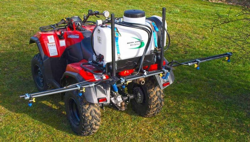 compact atv mounted sprayers
