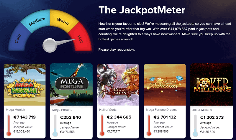 CasinoEuro Jackpots