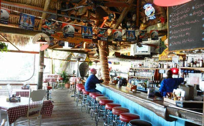 conchy Joe restaurant scenic drivealong the Indian River Lagoon