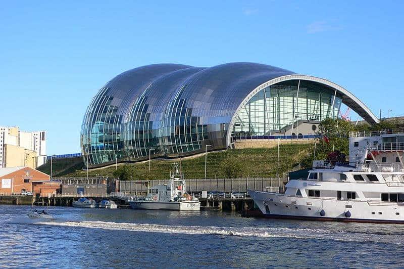 The Sage Gateshead, Gateshead. Blobitecture