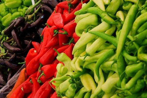 Chilis and more spicy chilies