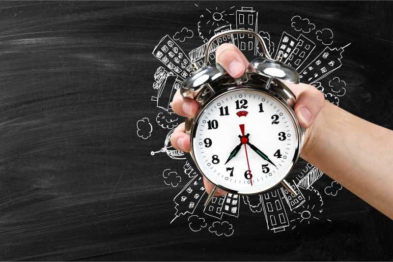 tiempo para el desarrollo app
